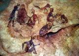 Jebel Acacus rock art copy, National Museum