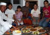 Bashir and family, breaking fast