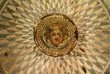 Medusa mosaic from Villa of Columns