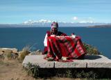 Traditional rites, Sun Island, Bolivia