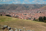 View over Cusco from Sacsayhuamán