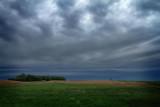 Highway Scene, Plains of South Dakota, South Dakota