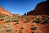 Park Avenue, Arches National Park, Moab, Utah