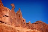 Queen Nefertiti, Park Avenue, Arches National Park, Moab, Utah