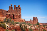 The Three Gossips, Arches National Park, Moab, Utah
