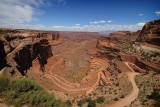 Shafer Trail Viewpoint, Canyonlands National Park, Moab, UT