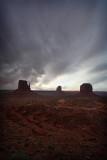 Last Look, Monument Valley Tribal Park,  UT