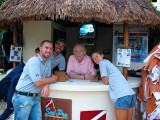 Diving Instructors And I, Occidental Grand Xcaret, Xcaret, Mexico