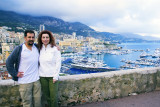 In front of Monte Carlo Bay