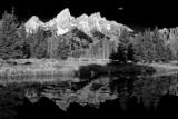 Grand Tetons from Schwabacher's Landing