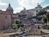 Roman Forum, the seat of power of ancient Rome.