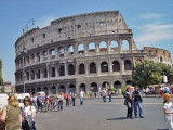 Behold the Collosseum in all her grandeur- the most enduring icon of Rome!