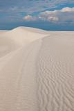 Summer Skies, White Sands