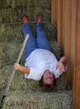 Upside Down in the Hay