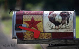 Country Chicken Mail Box