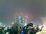 new year  - red square, 2011