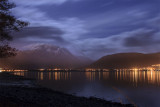 Fort William Lights with Ben Nevis