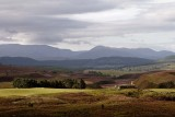 Dava Moor and Cairngorm Mountains