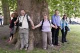 Tree huggers all
