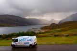 van at Loch Gleann Dubh