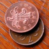 19th April Two Pence to Rub Together