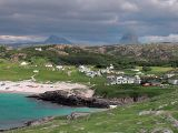 Achmelvich Caravan and Camping with sulven in background