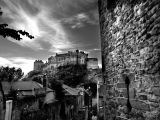 Edinburgh Castle BW