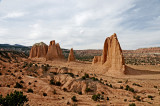 Cathedral Valley Monoliths