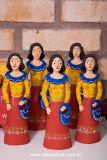 Artesanato de Santa Catarina, Personagem do Boi de mamão, Maricota, Artesã Dona Adelina, Santa Catarina, 8581