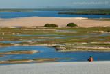 Laguinho do Torta em Tatajuba, visto da duna do funil, Camocim, Ceara, 2821