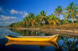 Canoa na Lagoa cassengue, Maraú, Bahia