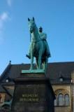 Kaiser Wilhelm und sein Pferd