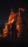 Norwegische Gustav Adolph Stabkirche in Hahnenklee
