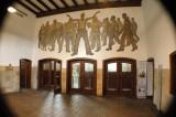 Die Eingangshalle zum Bergwerk