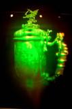 Hologram eines mittelalterlichen Silberpokals