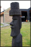 The Esquel bus station is a long way from Easter Island