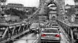 Chain Bridge - From the bus, outside raining