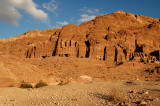 Sunset Over The Royal Tombs - Petra
