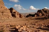 Area Around The Monastery - Petra