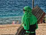 In Green - Beach in Aqaba