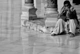 Meditation - Patio of The Omayyad Mosque