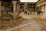 Patio of The Omayyad Mosque