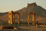 Arab Castle of  Qal'at Ibn Man - Palmyra