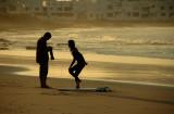 Photographer and Surfer Girl - Famara Beach