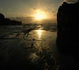 Sunset in 'El Golfo'