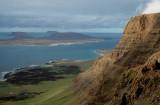Graciosa Island From Famara Cliffs