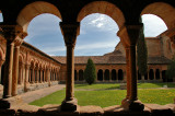 Romanesque Cloister - St. Peter Cathedral in Soria
