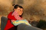 Mother and Daughter Posing - Burgo de Osma