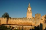 Walls and Cathedral - Burgo de Osma