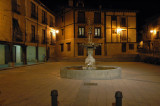 Fountain By Night - Burgo de Osma